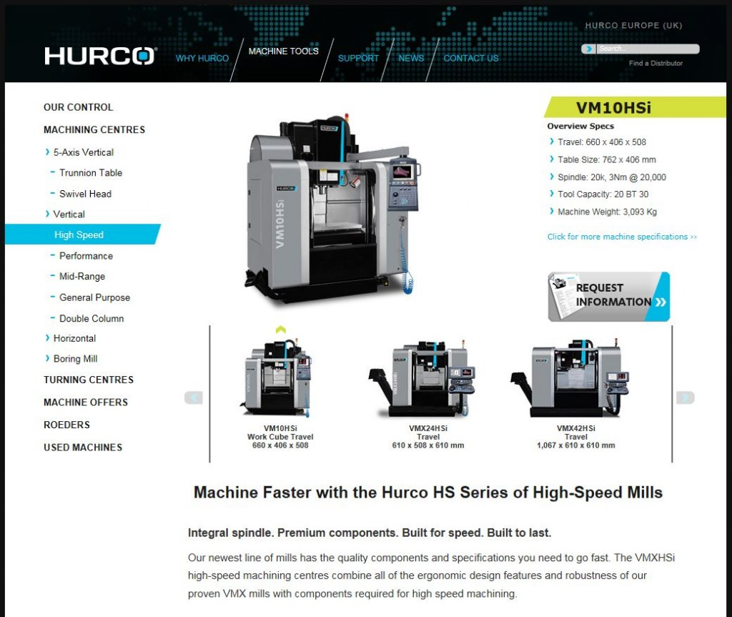 Hurco open day - Quality Tooling and Die Manufacture